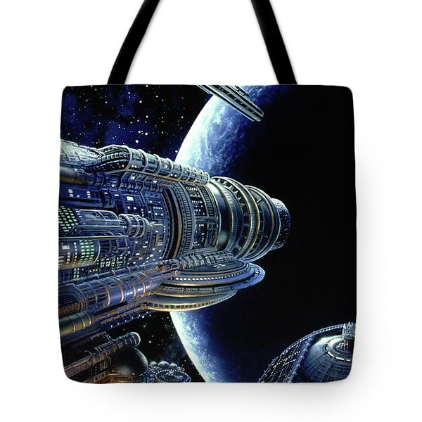 Foundation Trilogy Tote Bag by Don Dixon