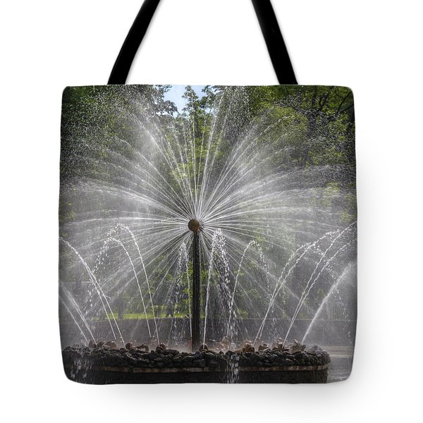 Fountain  Peterhof Palace  St Petersburg   Russia Tote Bag by Clare Bambers