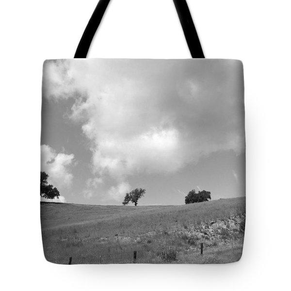 Tote Bag featuring the photograph Four On The Hill by Kathleen Grace