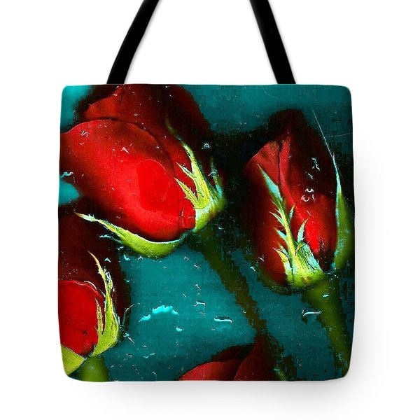 Four Roses Tote Bag