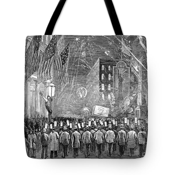 Fourth Of July, 1876 Tote Bag by Granger