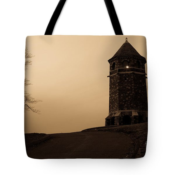 Fox Hill Tower Tote Bag