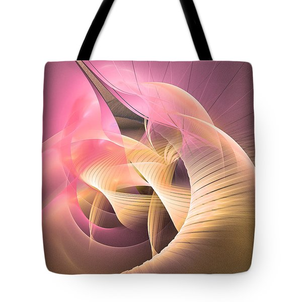Perpetuum Mobile - Abstract Art Tote Bag