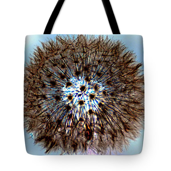 Fractal Seed Tote Bag by Marty Koch