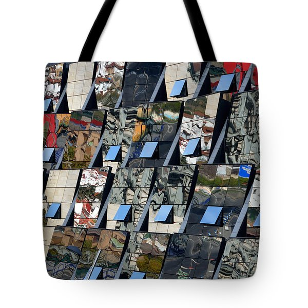 Fragmented Guggenheim Museum Bilbao Tote Bag by RicardMN Photography