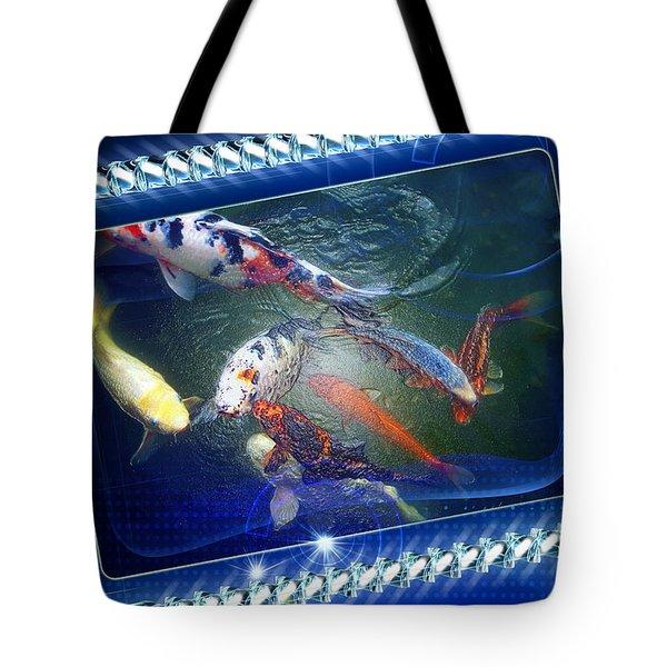 Framed Coy  Tote Bag