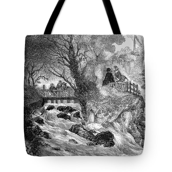 France: Divonne, 1856 Tote Bag by Granger