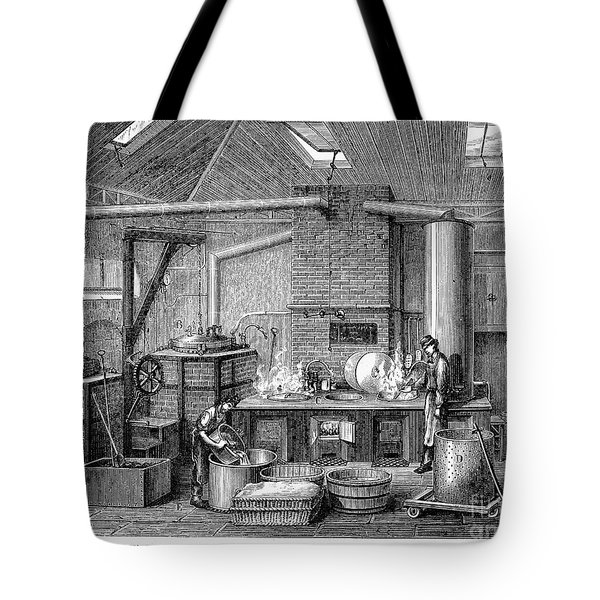 France: Food Laboratory Tote Bag by Granger