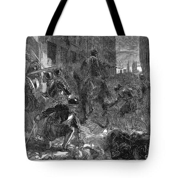 France: Massacre, 1572 Tote Bag by Granger