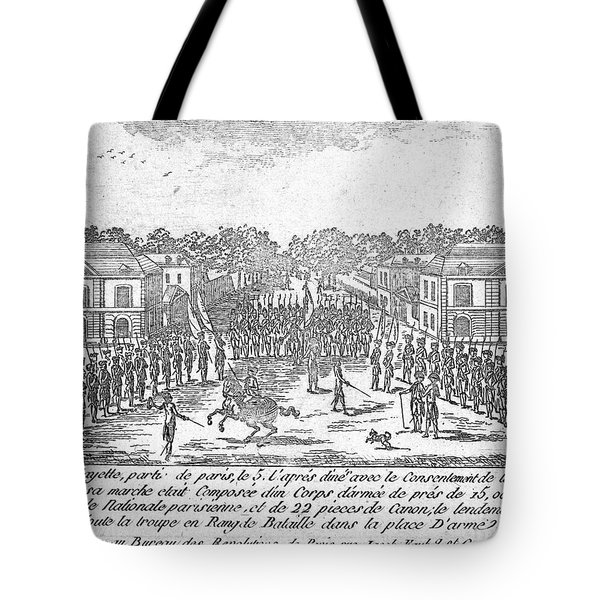 France: National Guard Tote Bag by Granger
