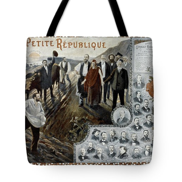 France: Socialism, 1900 Tote Bag by Granger