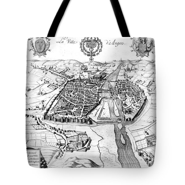 France: Walled City, 1688 Tote Bag by Granger