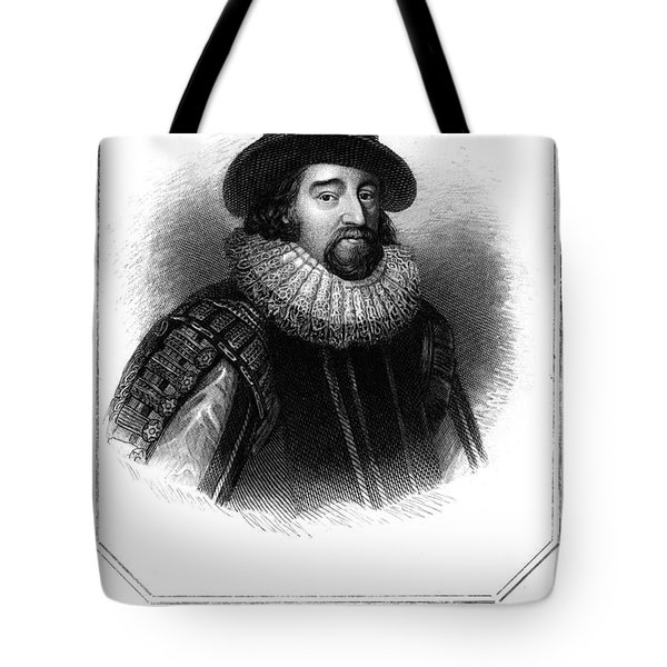 Francis Bacon (1561-1626) Tote Bag by Granger