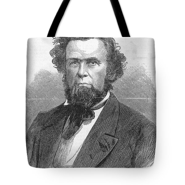 Francis H. Pierpont (1814-1899) Tote Bag by Granger