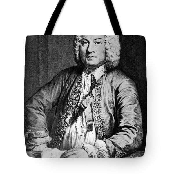 Francois Couperin (1668-1733). French Composer And Organist. Copper Engraving, 1725, By Joseph Flipart After A. Bouys Tote Bag by Granger