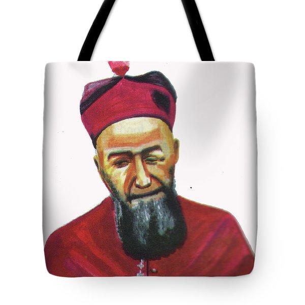 Francois Xavier Vogt Tote Bag by Emmanuel Baliyanga