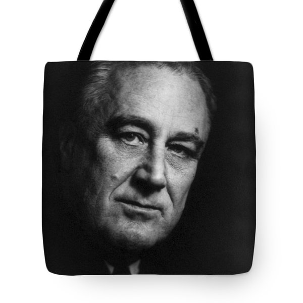 Franklin Delano Roosevelt  - President Of The United States Of America Tote Bag by International  Images