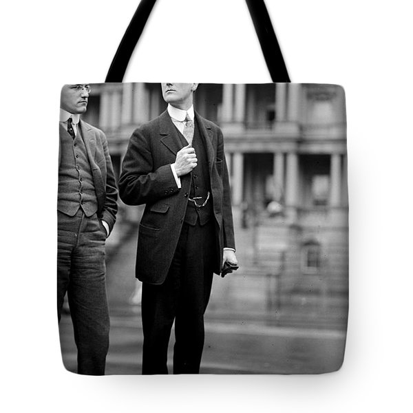 Franklin Delano Roosevelt As A Young Man - C 1913 Tote Bag by International  Images