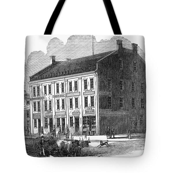 Franklin Pierce Tote Bag by Granger