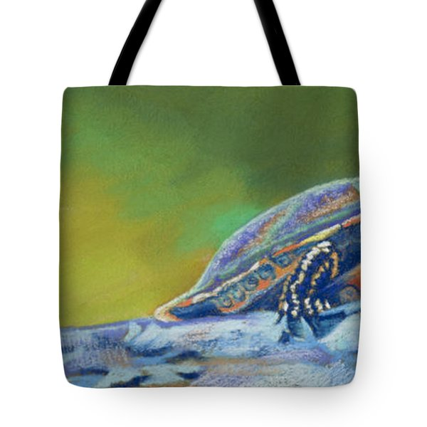Frank's Turtle Tote Bag by Tracy L Teeter