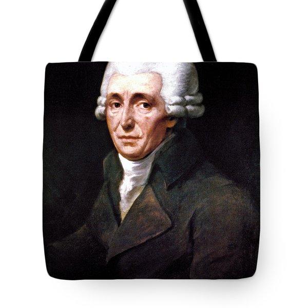 Franz Joseph Haydn Tote Bag by Granger