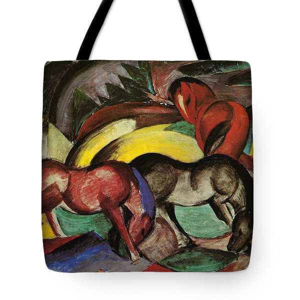 Franz Marc  Tote Bag by Three Horses
