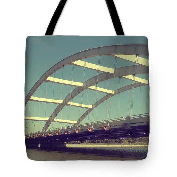 Freddie Sue Bridge Tote Bag by Kristen Cavanaugh