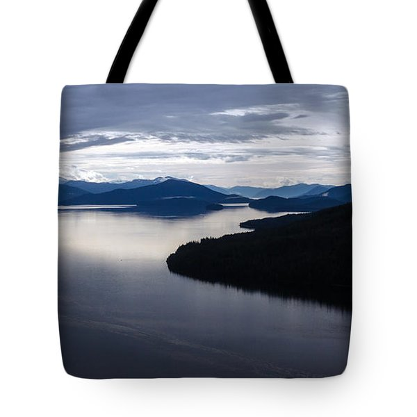 Frederick Sound Morning Tote Bag by Mike Reid