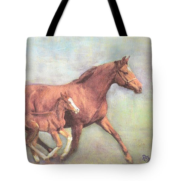 Free And Fleet As The Wind Tote Bag