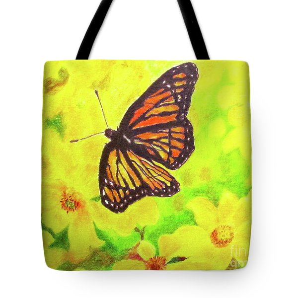 Free To Fly Tote Bag by Beth Saffer