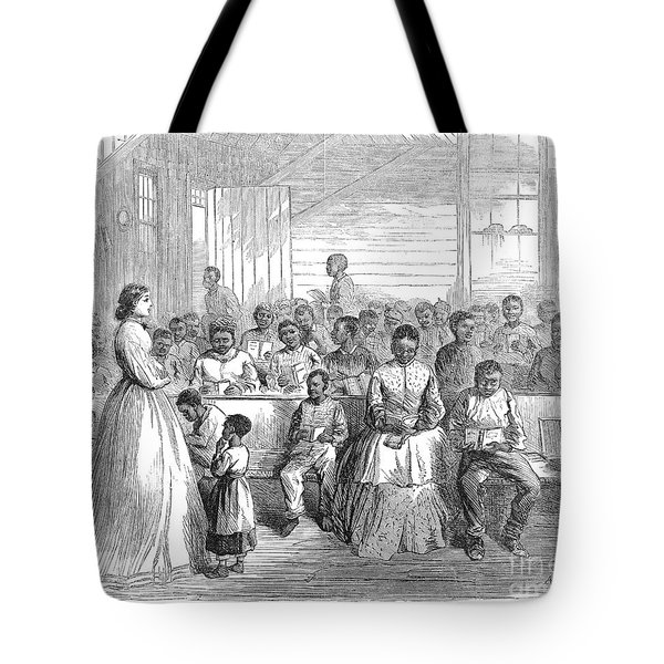 Freedmans School, 1866 Tote Bag by Granger