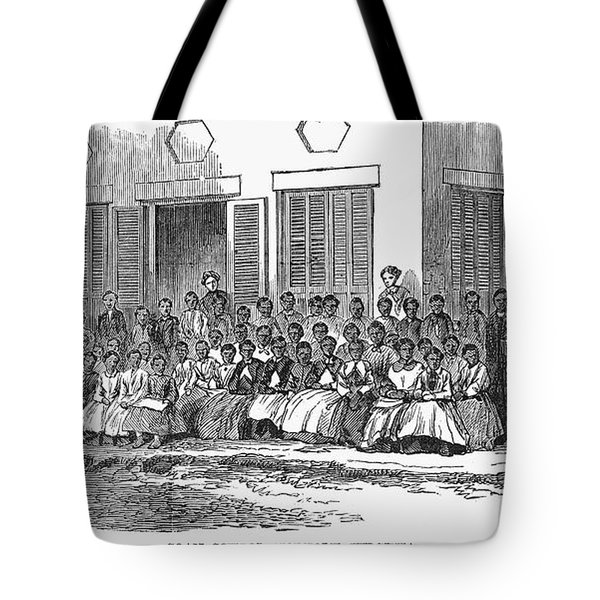 Freedmens School, 1868 Tote Bag by Granger