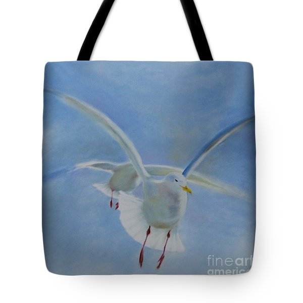 Tote Bag featuring the painting Freedom by Annemeet Hasidi- van der Leij