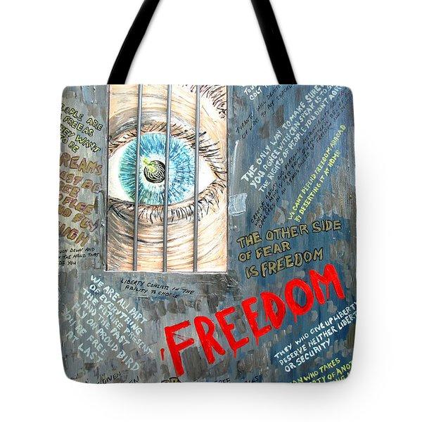 Freedom Tote Bag by Ian  MacDonald