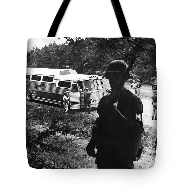 Freedom Riders, 1961 Tote Bag by Granger