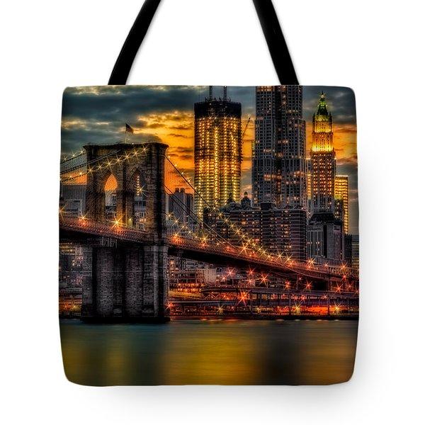 Freedom Rising Tote Bag by Susan Candelario