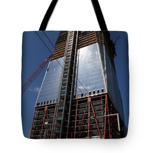 Freedom Tower 5 Tote Bag by Andrew Fare