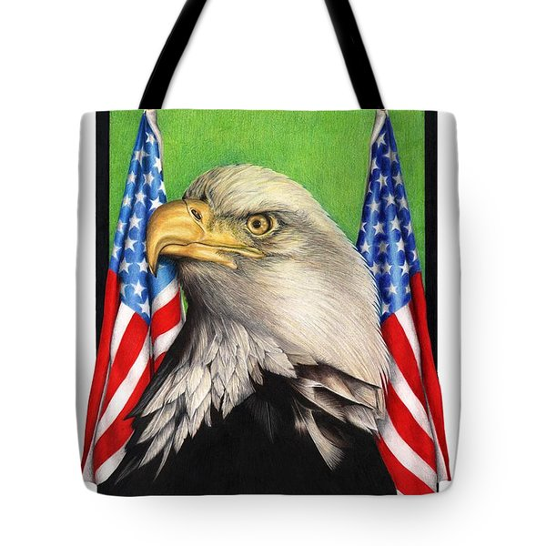 Freedoms Pride Tote Bag by Sheryl Unwin