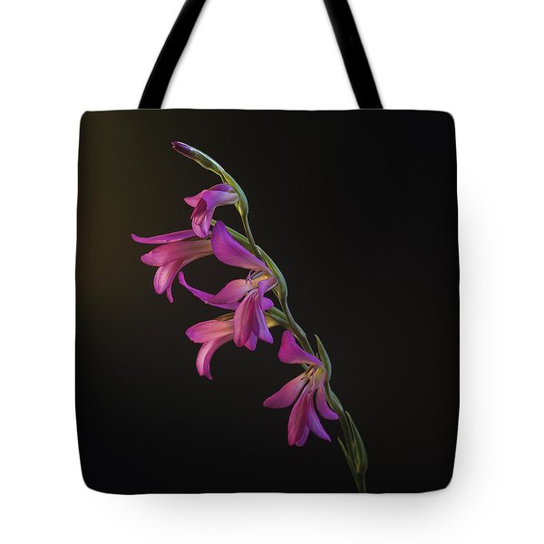 Tote Bag featuring the photograph Freesia In The Spotlight by Susan Rovira