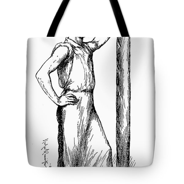 French Abolitionist, 1850s Tote Bag by Granger