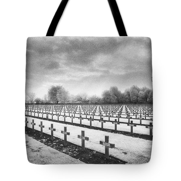 French Cemetery Tote Bag by Simon Marsden