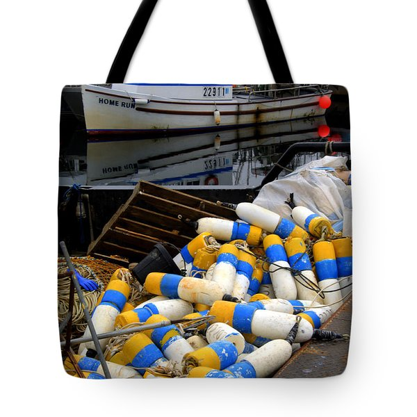 French Creek Trawlers Tote Bag by Bob Christopher