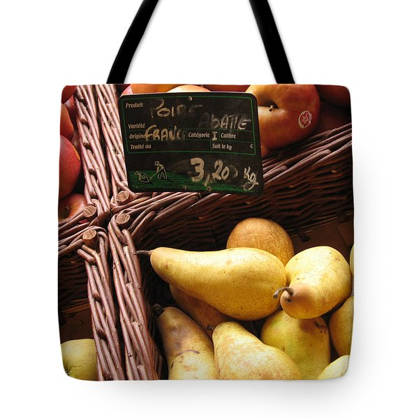 French Pears For Sale Tote Bag
