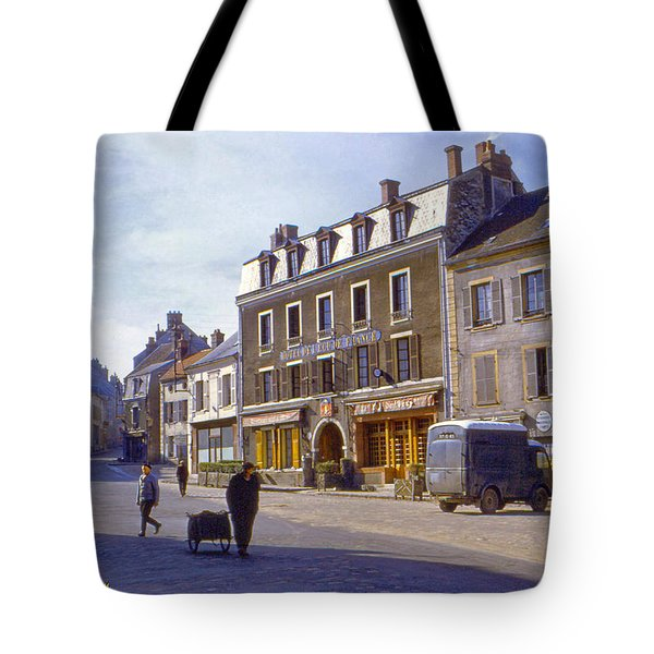 French Village Tote Bag