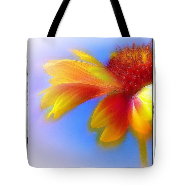 Fresh As A Daisy Tote Bag by Judi Bagwell