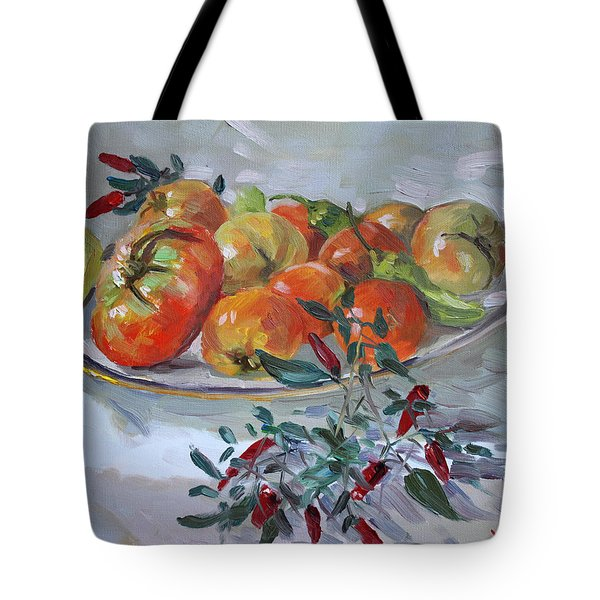 Fresh From The Garden Tote Bag by Ylli Haruni
