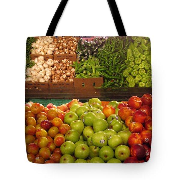 Fresh Market Series. Bounty. Tote Bag by Ausra Huntington nee Paulauskaite