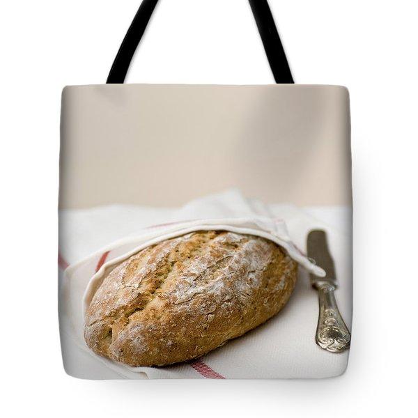 Freshly Baked Whole Grain Bread Tote Bag by Shahar Tamir