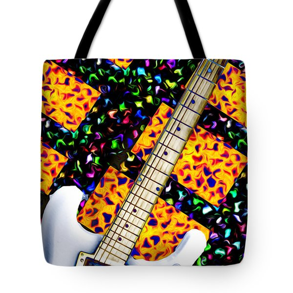 Frets Tote Bag by Bill Cannon