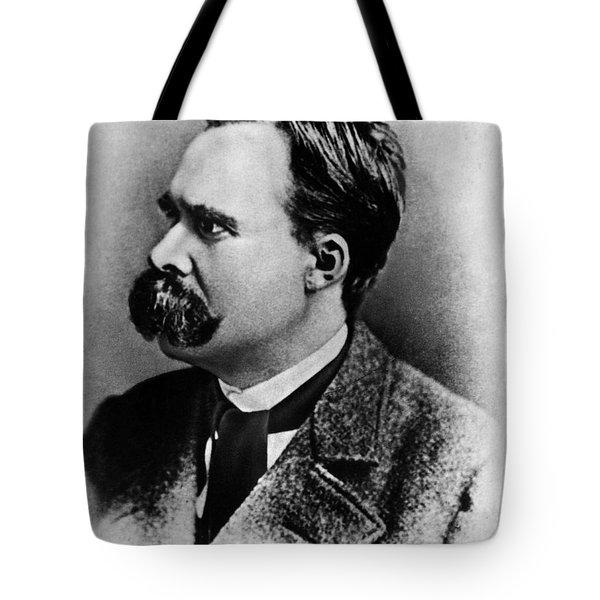 Friedrich Wilhelm Nietzsche, German Tote Bag by Omikron